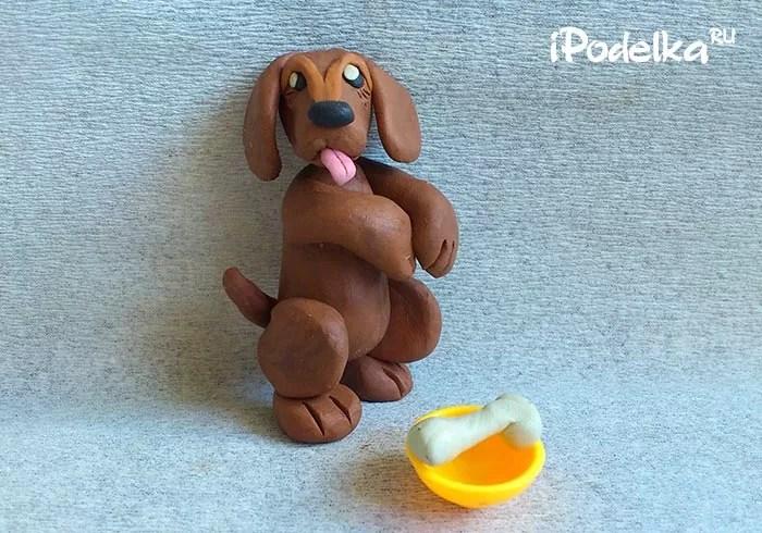 Làm thế nào để làm một con chó con từ plasticine