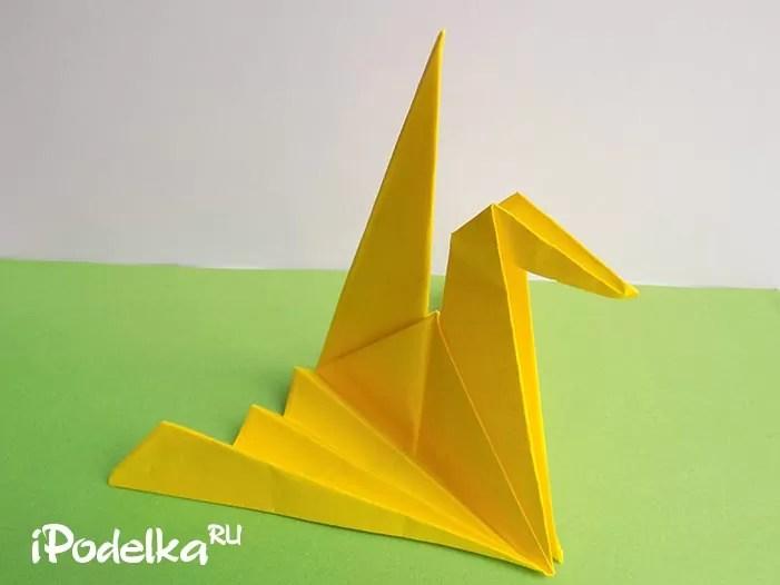 Оригамидегі кран