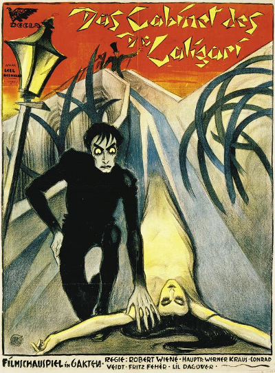 Locandina di Caligari - Atelier Ledl Bernhard [PD], via Wikimedia Commons