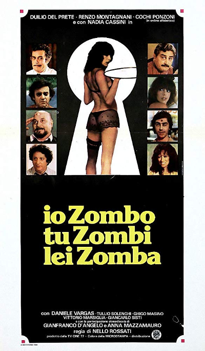 Io Zombo, Tu Zombi, Lei Zomba - Movie poster, from IMDB