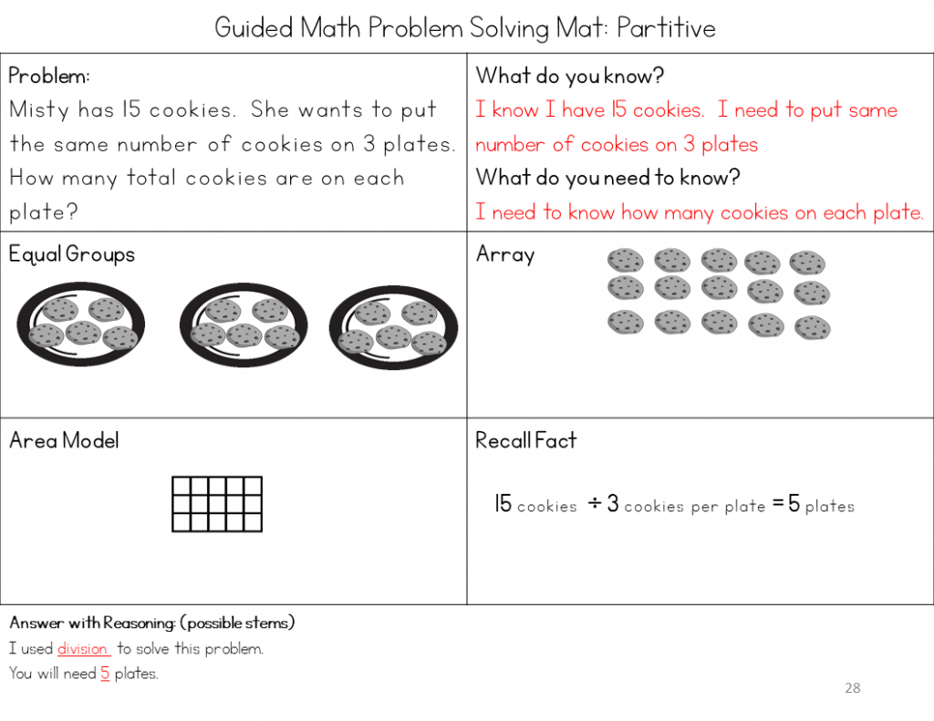 1 And 2 Step Problem Solving With Multiplication And