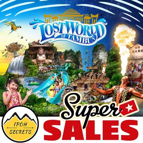 Ipoh Secrets Lost World of Tambun Theme Park
