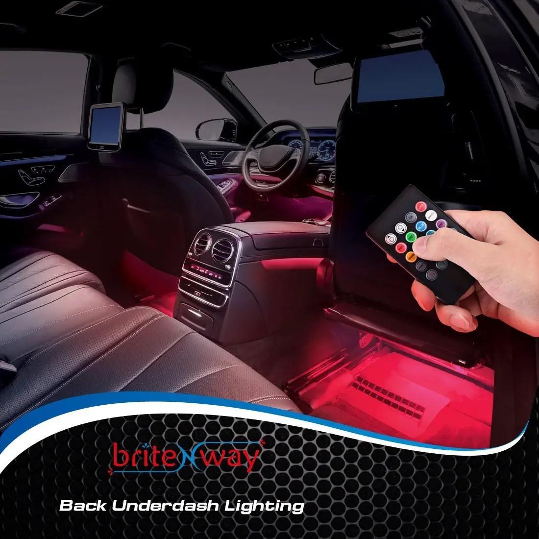#10 Car Interior Lights U2013 Playful Cool Gadgets For Men