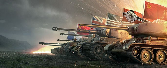 Best Multiplayer War Games:  World of Tanks