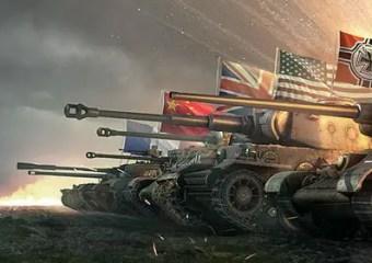 Best Multiplayer War Games:  World of Tanks