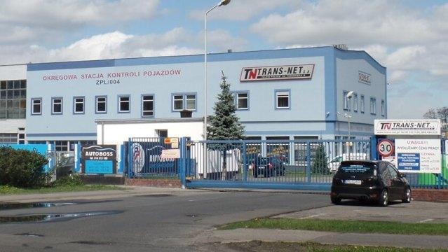 Trans-Net w Policach, firma zajmująca się wywozem odpadów