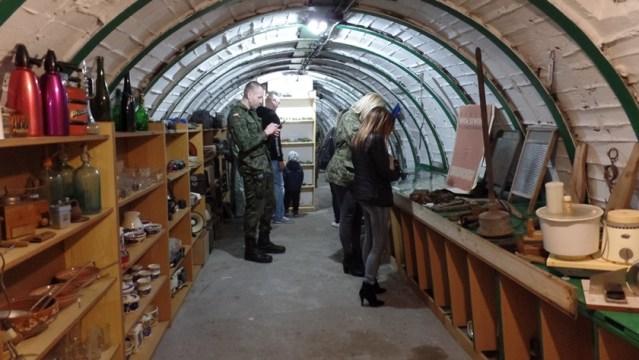 muzeum PRL w schronie przy ul. Kosynierów w Policach