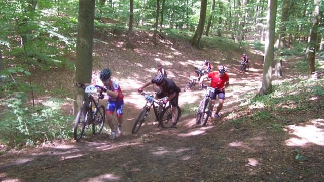 wyścig w kolarstwie górskim w Policach