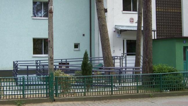 dom opieki przy ul. Korczaka w Policach