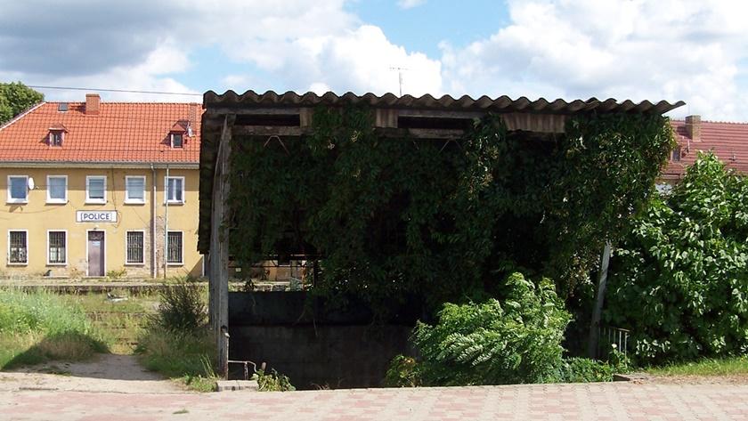 dworzec kolejowy w Policach
