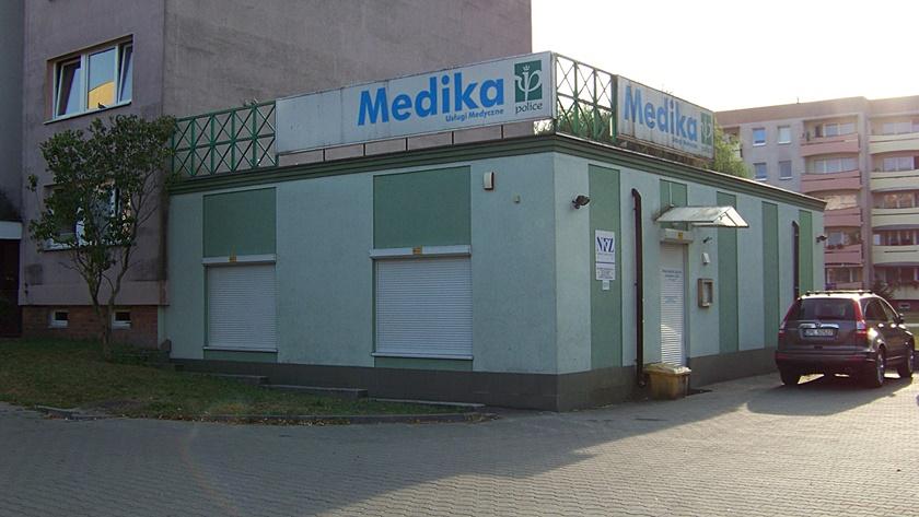 przychodnia Mediki w centrum Polic