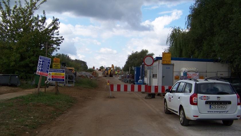 remont wiaduktu na ul. Kuźnickiej w Policach