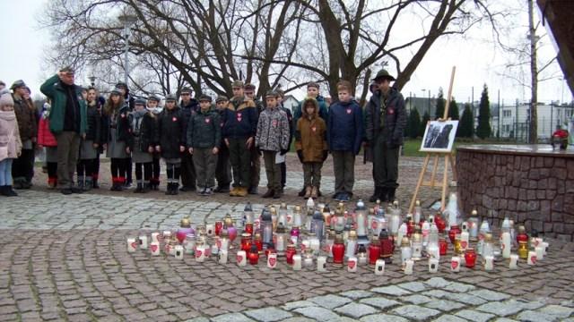 harcerze podczas pogrzebu Pawła Adamowicza