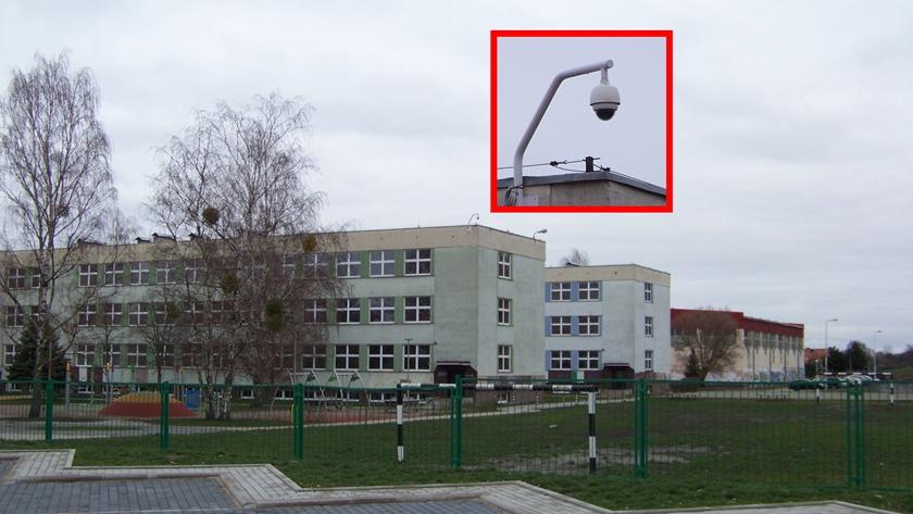 kamera na dachu SP 8 w Policach