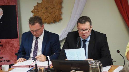 Grzegorz Ufniarz, przewodniczący Rady Miejskiej w Policach