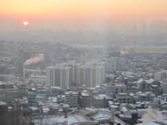 Dawn in Seoul