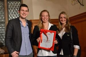 Von links: Christopher Wesley, Katrin Gottwald & Elena Krawzow
