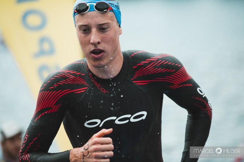 Endlich wieder Triathlon Wettkampf Simon Henseleit