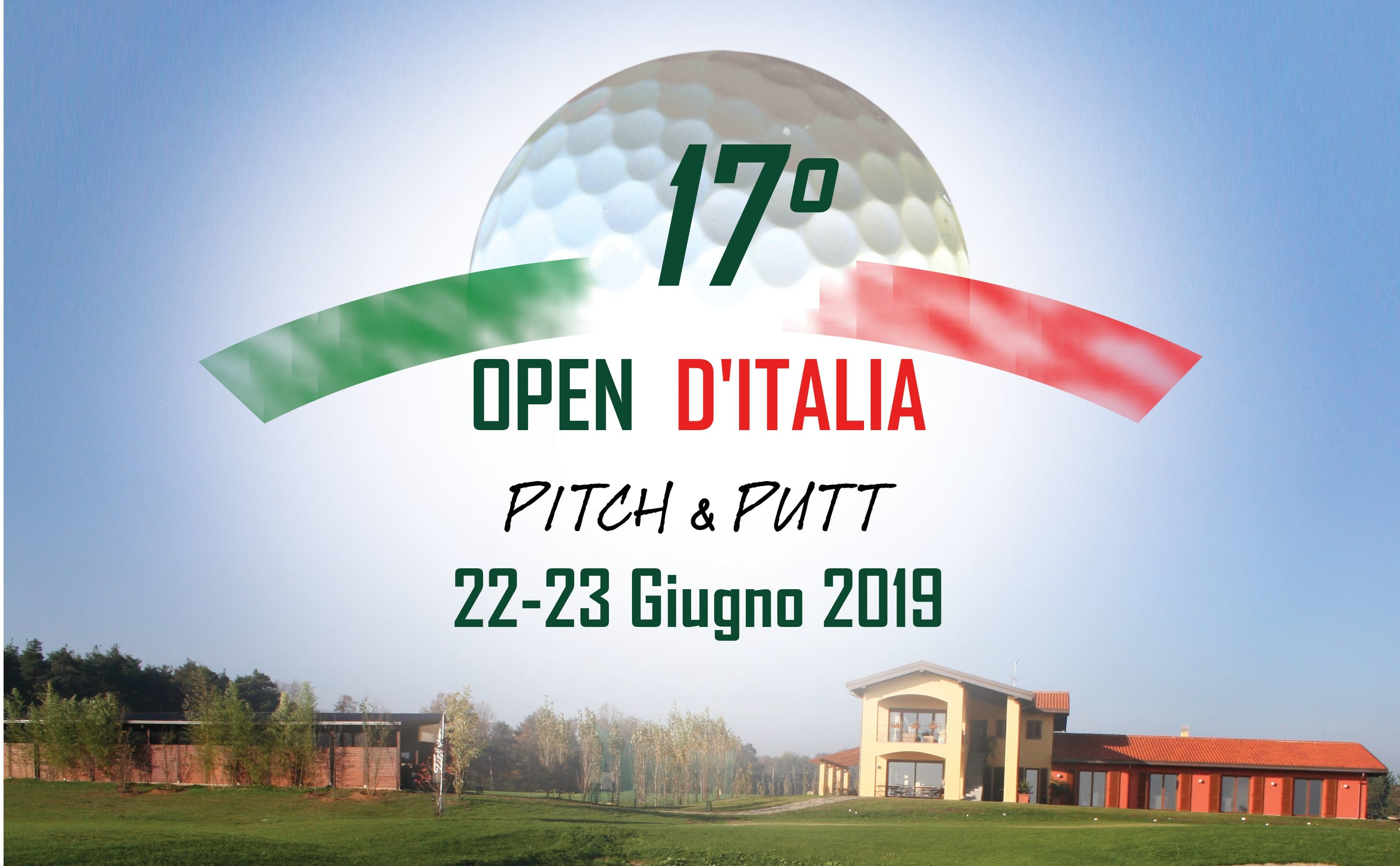 17th OPEN D' ITALIA P&P will be at Virginia Golf – Appiano Gentile