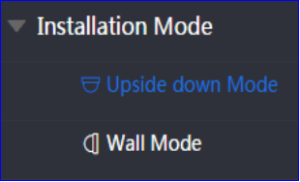 Installation mode