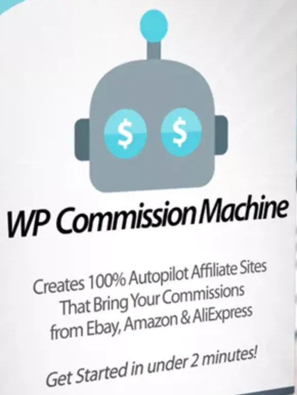 Image shows the WP Commission Machine product as reviewed here.