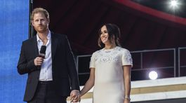 Prince Harry and Meghan attended the Global ... concert