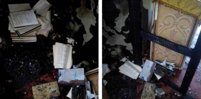 На Днепропетровщине подожгли храм Московского патриархата