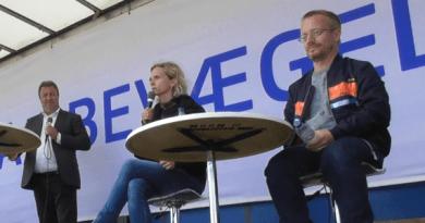 Matilde Kimer, Jon Kyst og Ole Ryborg på East StratCom Folkemøde