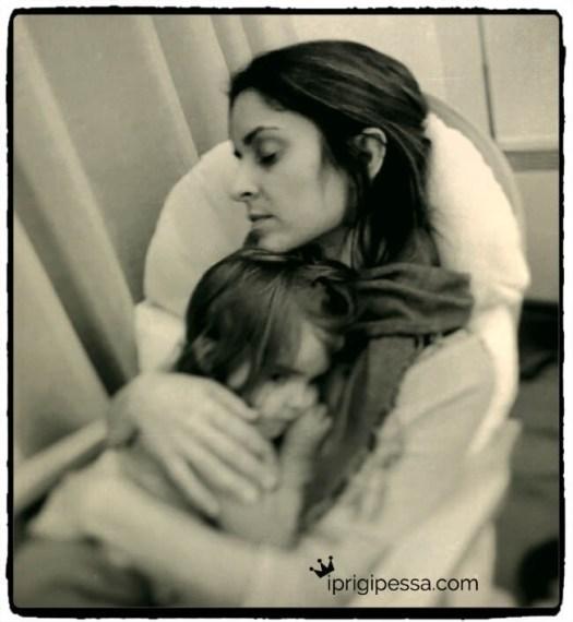 """Όταν το παιδί μου αρρωσταίνει θέλω απλώ να μου πεις """"σε καταλαβαίνω, κουράγιο!""""."""