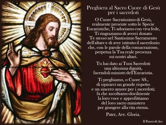11 giugno: Giornata per la santificazione dei sacerdoti