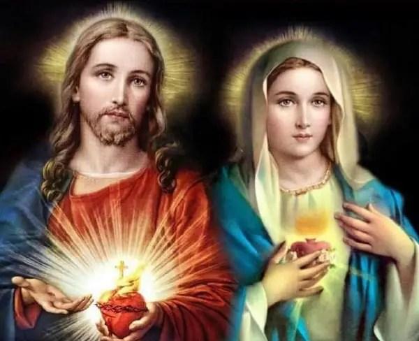 19 giugno: Solennità del SACRO CUORE DI GESÙ e 20 giugno: Festa del CUORE IMMACOLATO DI MARIA