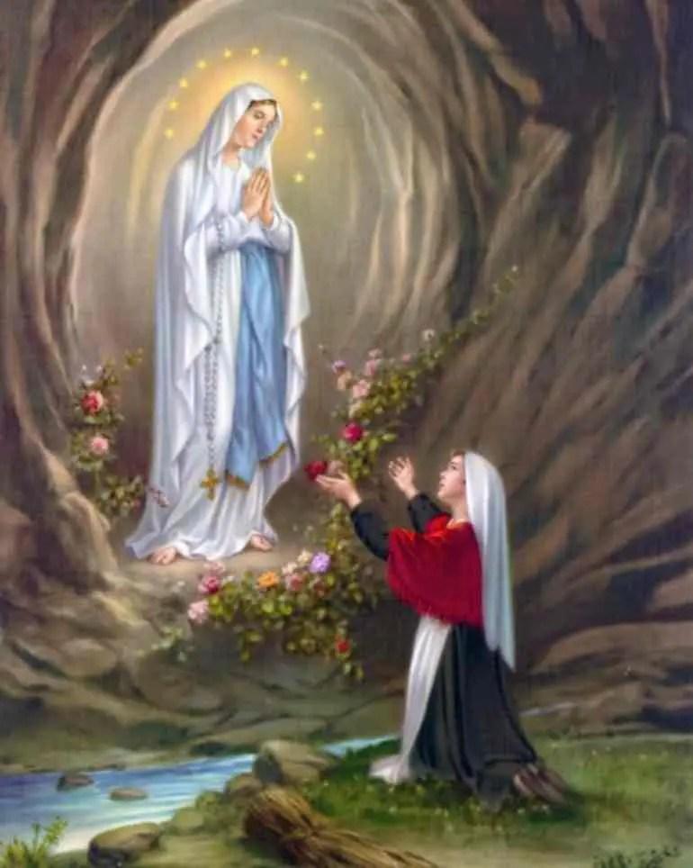 Read more about the article Triduo di preghiera alla Beata Vergine di Lourdes dall'8 al 10 febbraio