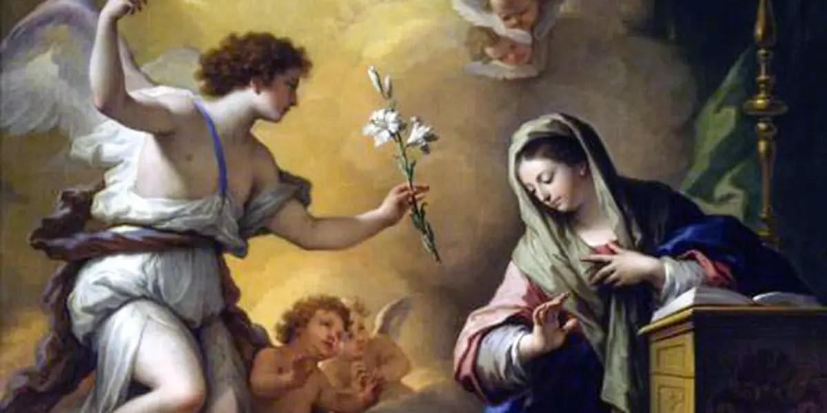 Triduo di preghiera per l'ANNUNCIAZIONE DEL SIGNORE- dal 22 al 24 marzo