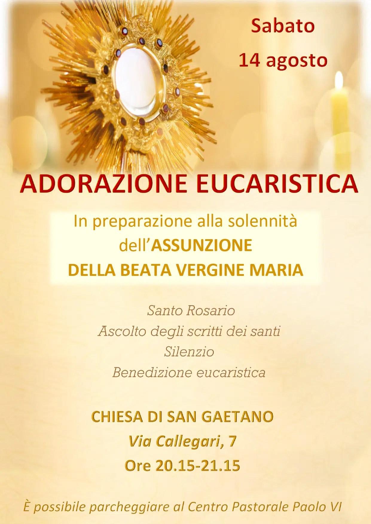 Read more about the article Adorazione eucaristica