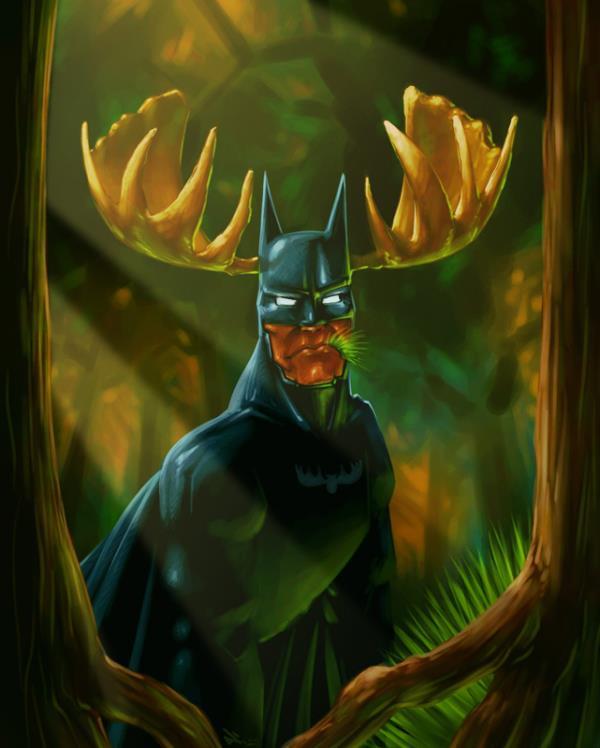 Batman-deer-buck-antlers