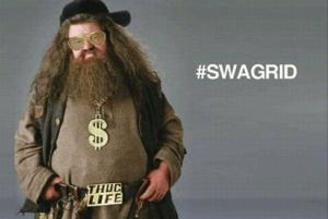 Swagrid-Harry Potter spoof