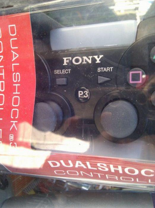 Fony sony playstation controller funny