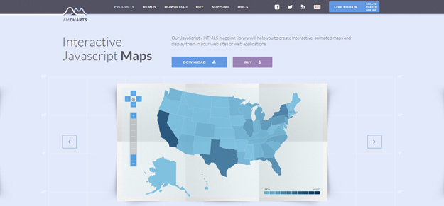 Best JavaScript Libraries for Creating Interactive Maps