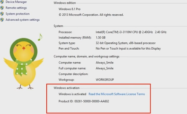 activate windows 8 without product key