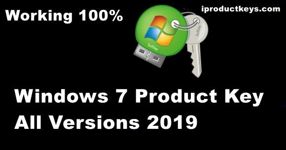 key windows 7 ultimate 64 bit 2019