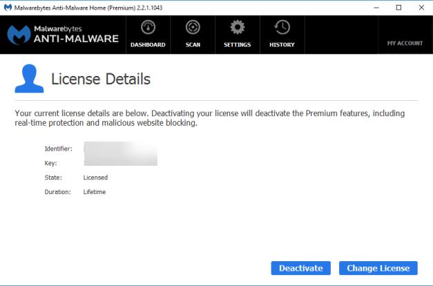 malware premium license