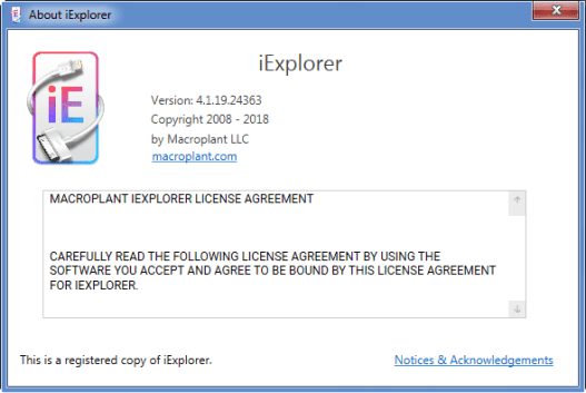 iexplorer 4 registration code download