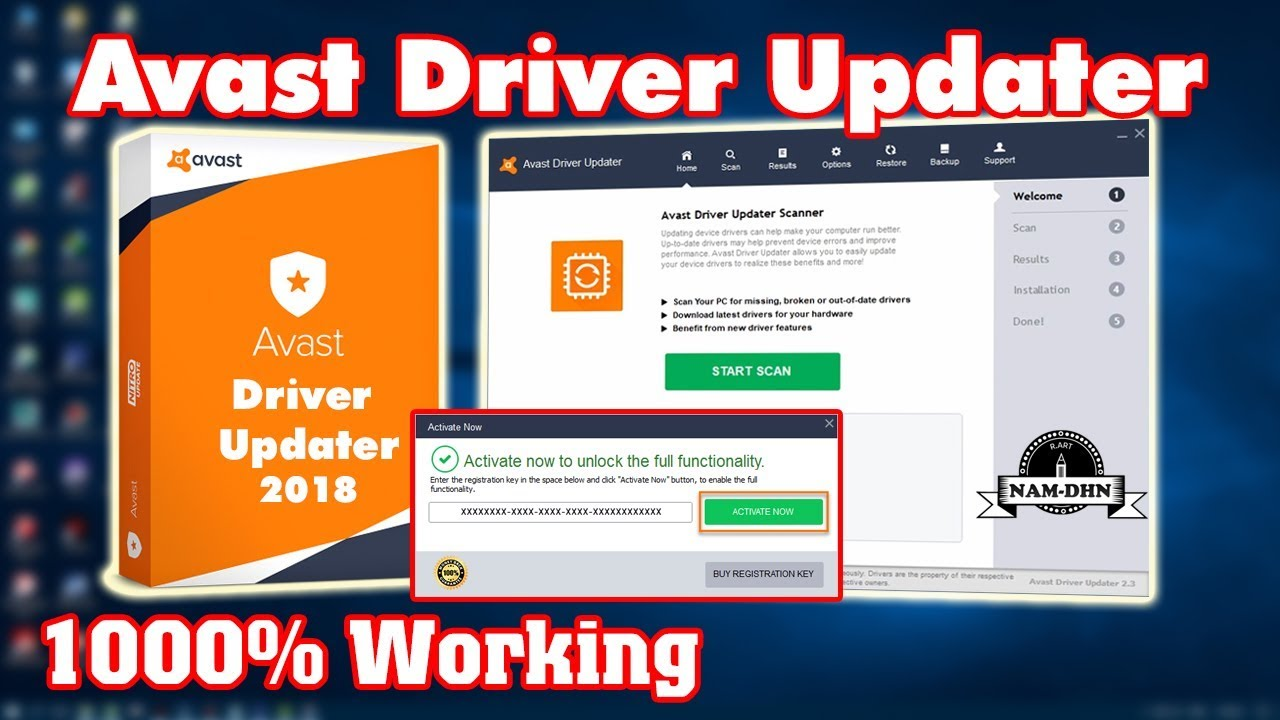 avast driver updater key 2017