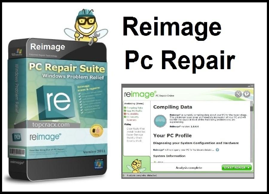 Reimage PC Repair License Keys 2021 + Crack Download