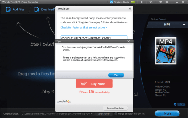 WonderFox DVD Video Converter 18.4 With Serial Key