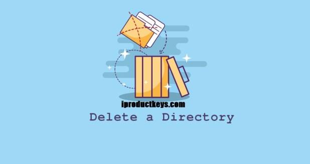 delete directory linux