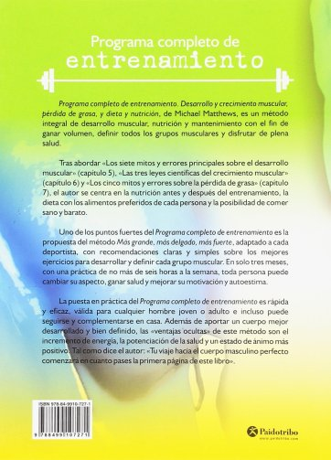 Programa Completo de Entrenamiento pdf