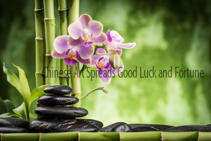 Chinese Art Spreads Good Luck and Fortune