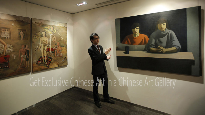 Get Exclusive Chinese Art in a Chinese Art Gallery