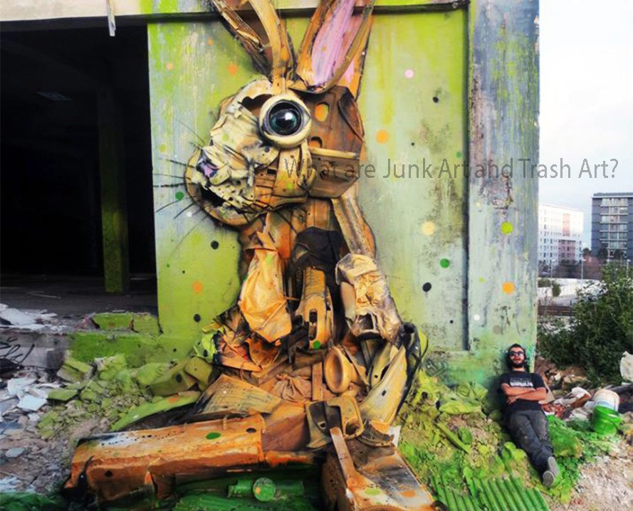 What are Junk Art and Trash Art?